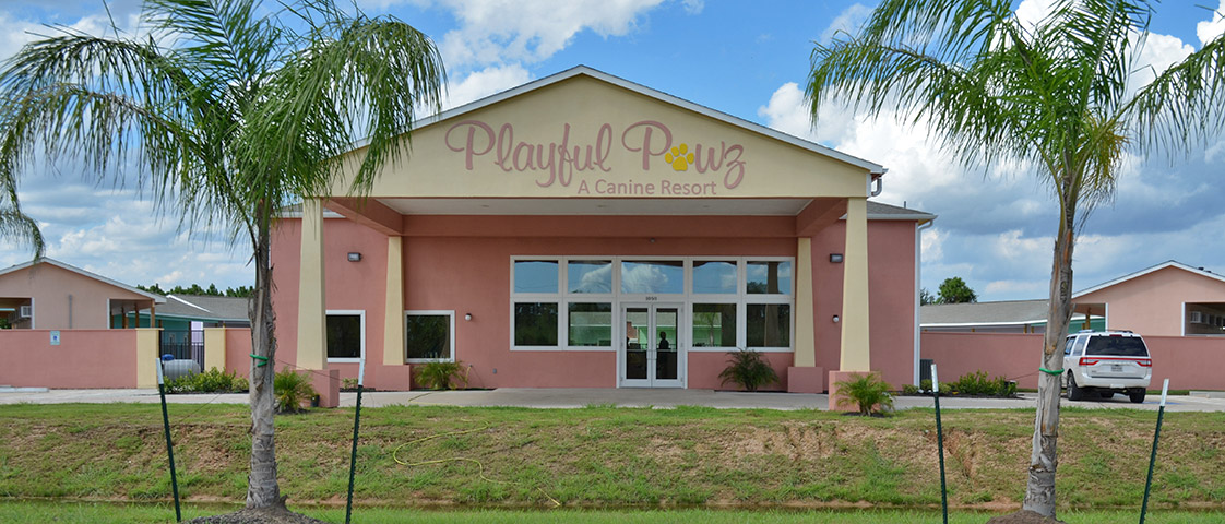 Playful Pawz Resort Storefront